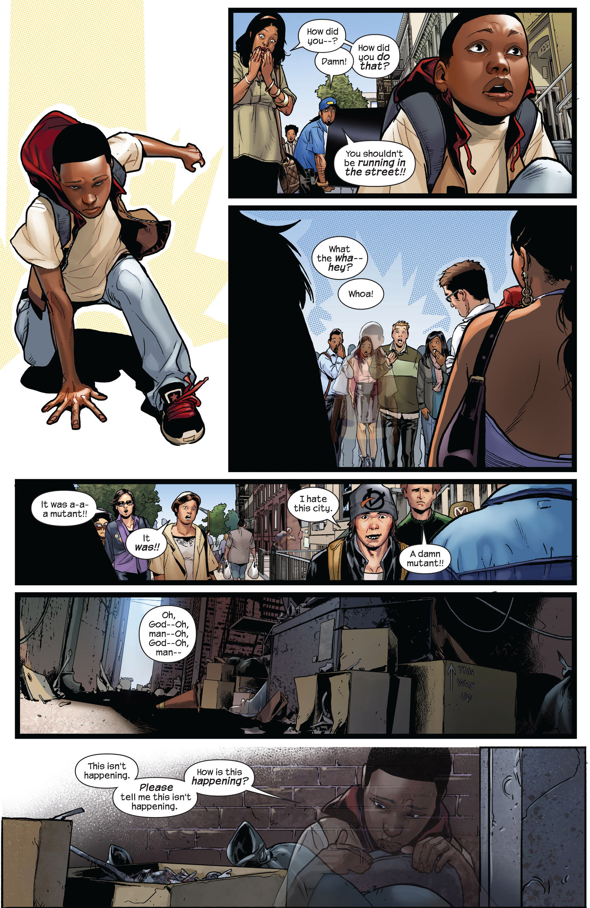 Read online Ultimate Comics Spider-Man (2011) comic -  Issue #2 - 4