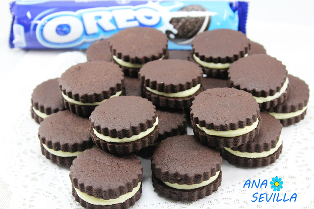 Galletas Oreo caseras con Thermomix.