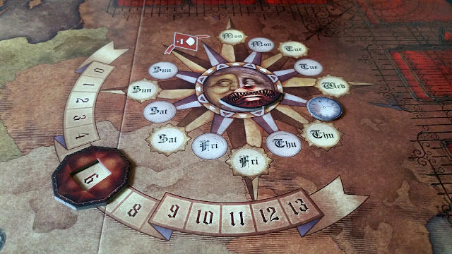 Fury of Dracula review sun dial
