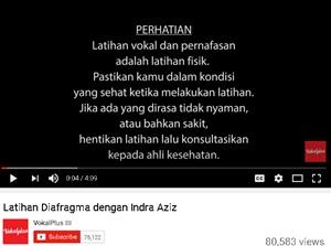 Cara Menyanyi Dengan Menggunakan Diafragma (Tips Vokal)