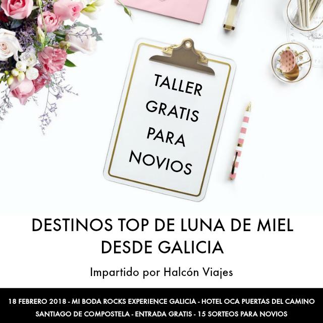 Circuito Galicia Halcon Viajes : Mi boda reserva talleres rocks experience