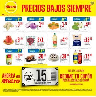 Catalogo Metro Supermercado mayo 2018