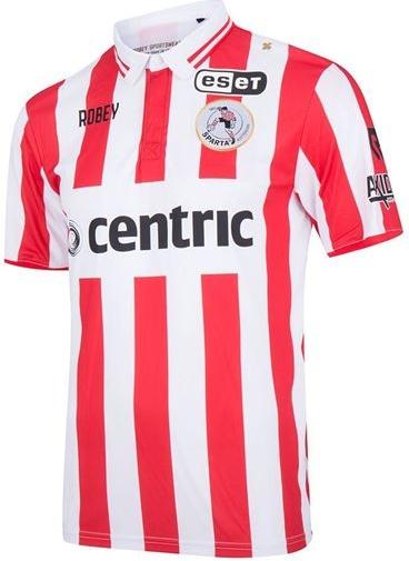 0e887cd0b4 A equipe do Sparta Rotterdam divulgou seus novos uniformes que serão usado  na temporada 2017 18 do Campeonato Holandês de futebol.