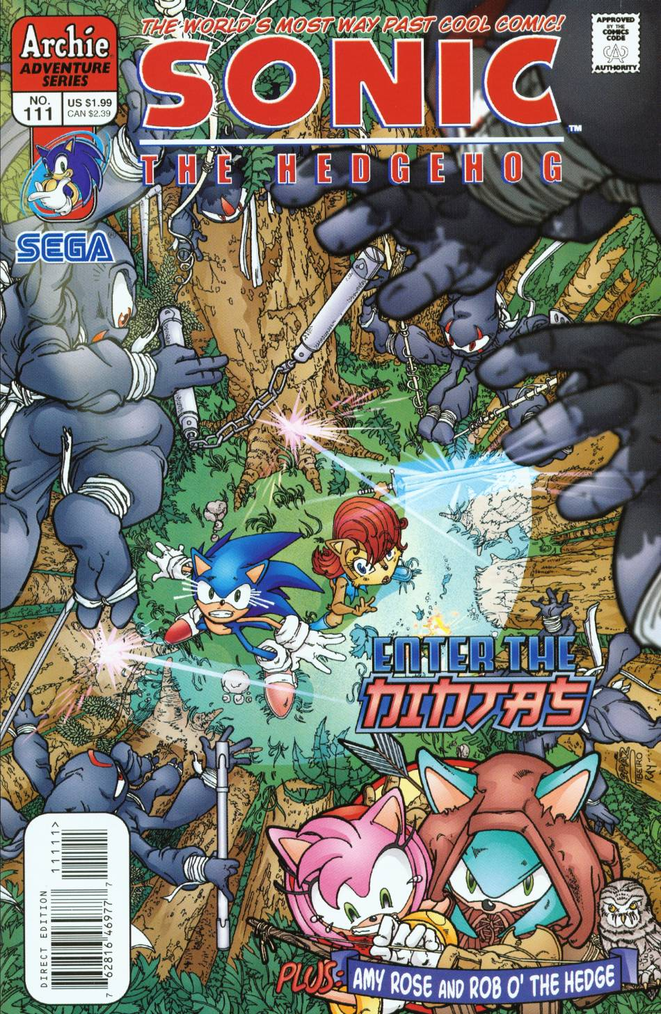 Sonic The Hedgehog (1993) 111 Page 1