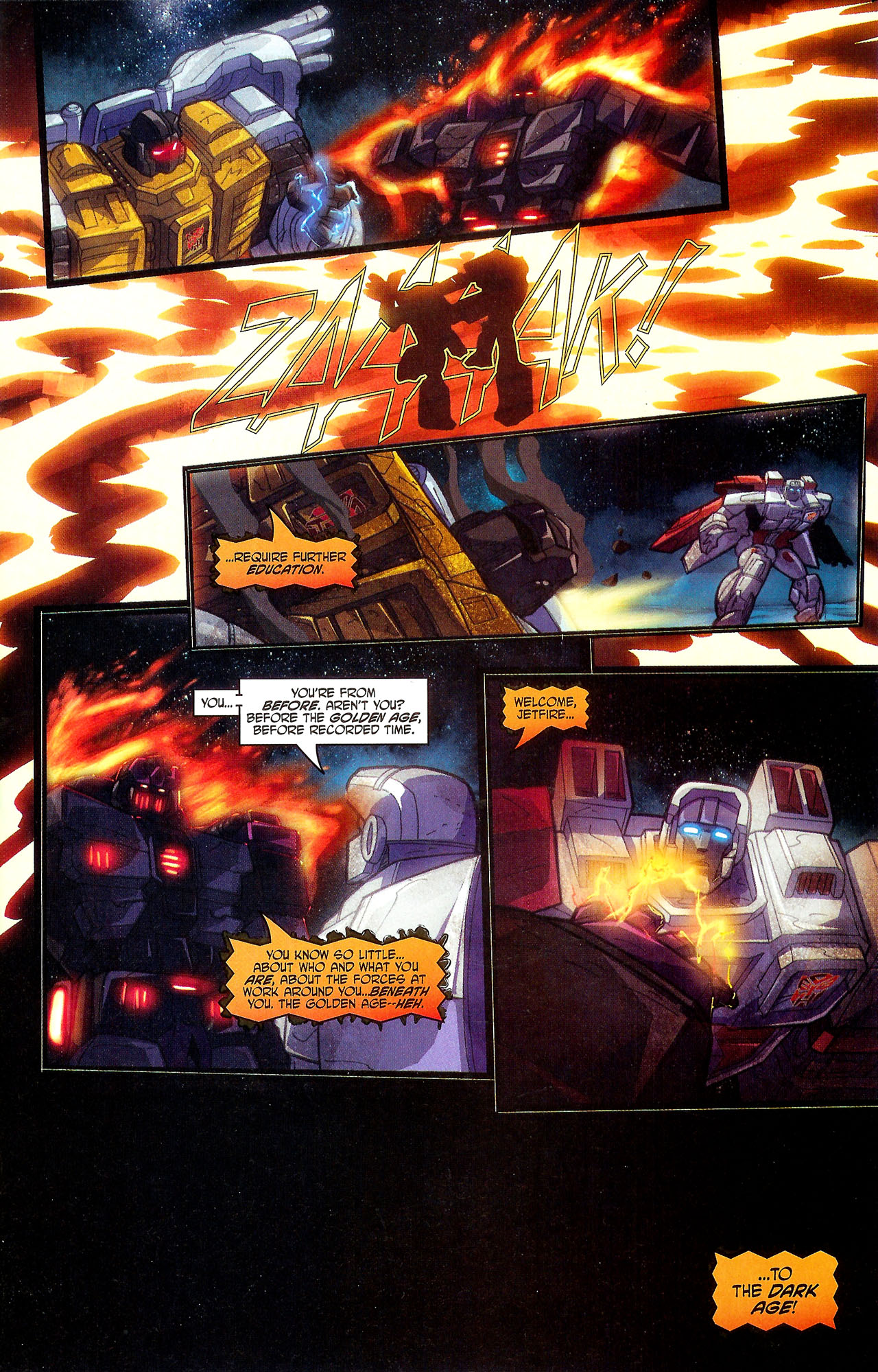 """Read online Transformers War Within: """"The Dark Ages"""" comic -  Issue #5 - 5"""