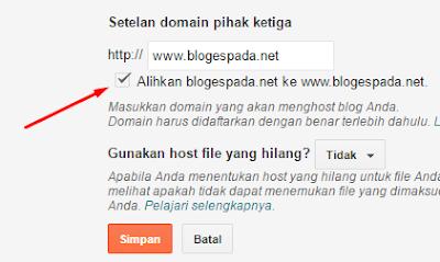 Tips Agar Domain Bisa Diakses Dengan atau Tanpa WWW 13