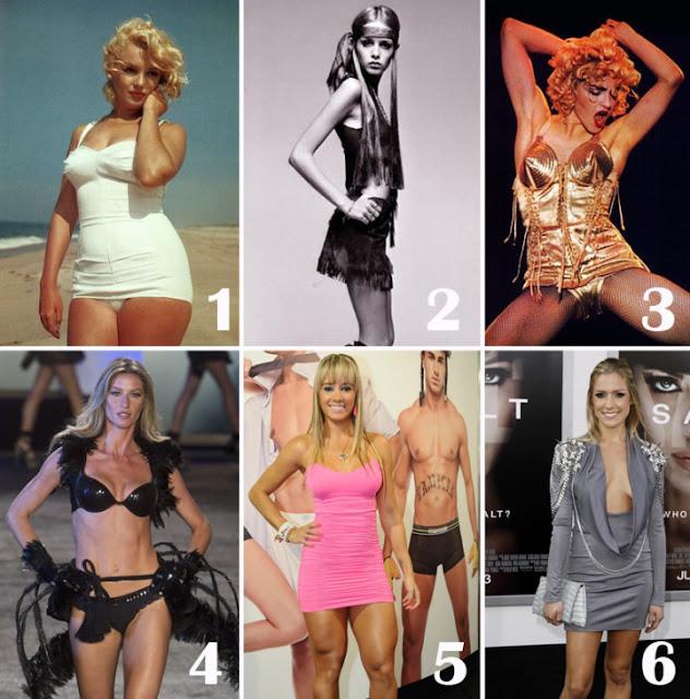 Resultado de imagem para Veja como os padrões de beleza do corpo das mulheres mudou ao longo de 3 mil anos