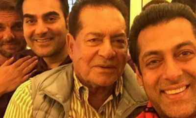 Salim Khan and Her Sons