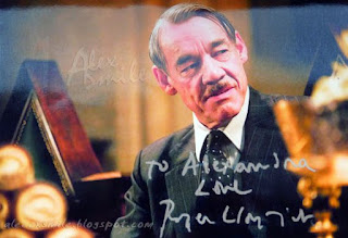 Roger Lloyd Pack -Autograf, Harry Potter Barty Crouch Sr