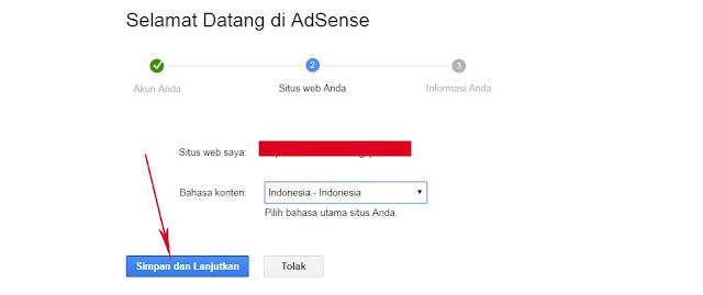 Cara Daftar Google Adsense Melalui Blogger/Blogspot