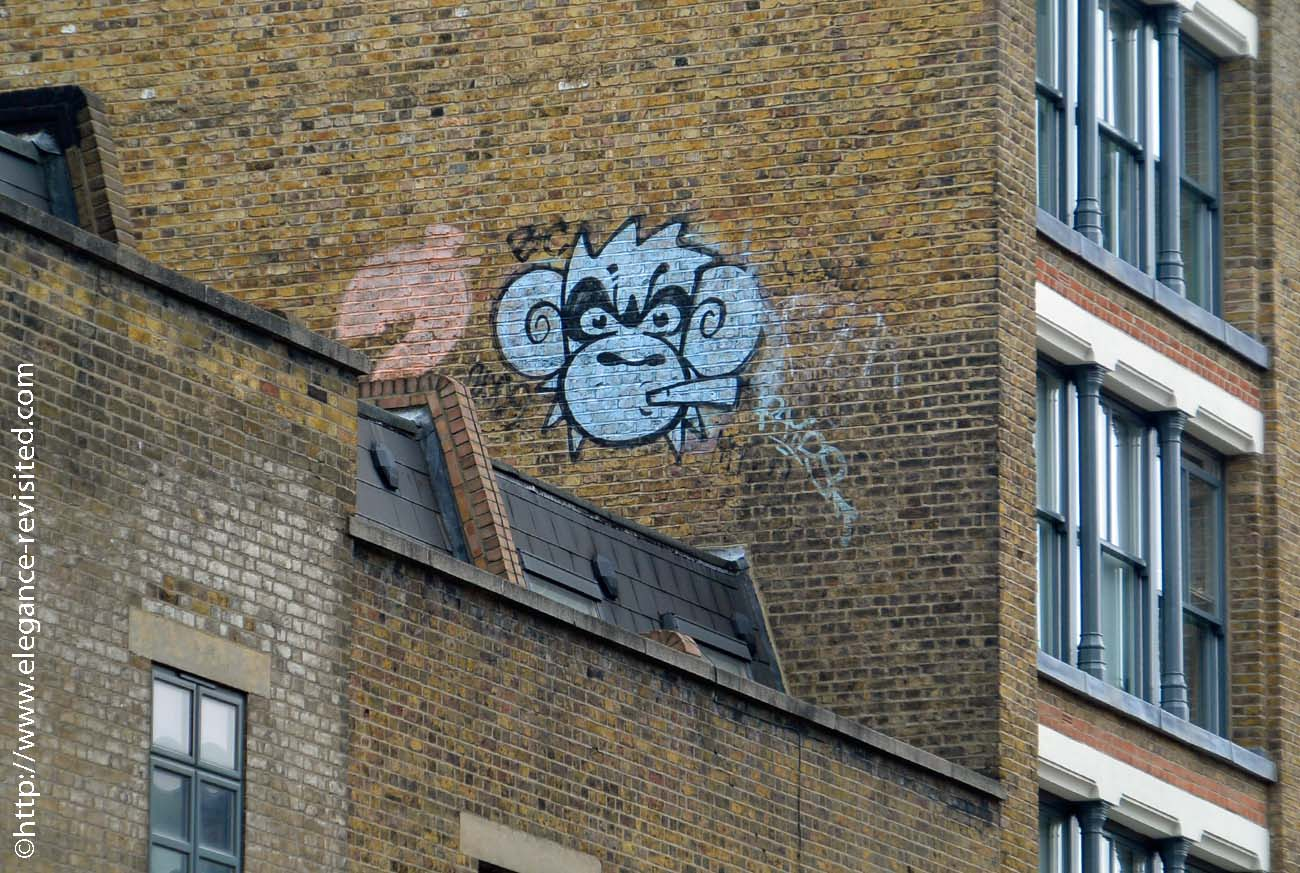 East London graffiti