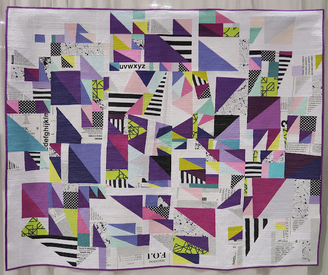 Quiltcon 2019 - Ultra Violet by Stacie O'Malley