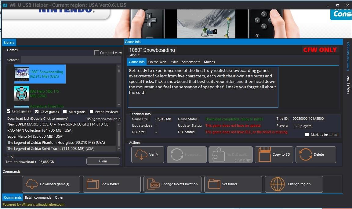 Descarga De Juegos E Instalacion Wii U Juegos Usb Helper