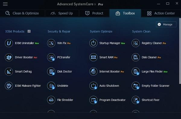 Advanced SystemCare Pro 10.0.3.620 + Crack