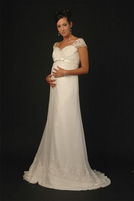 Vestidos de novia para embarazadas ¡11 Tendencias de moda!