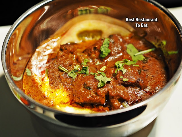 The Mill Clip And Eat Buffet Menu - Indian Dishes Rogan Josh Lamb