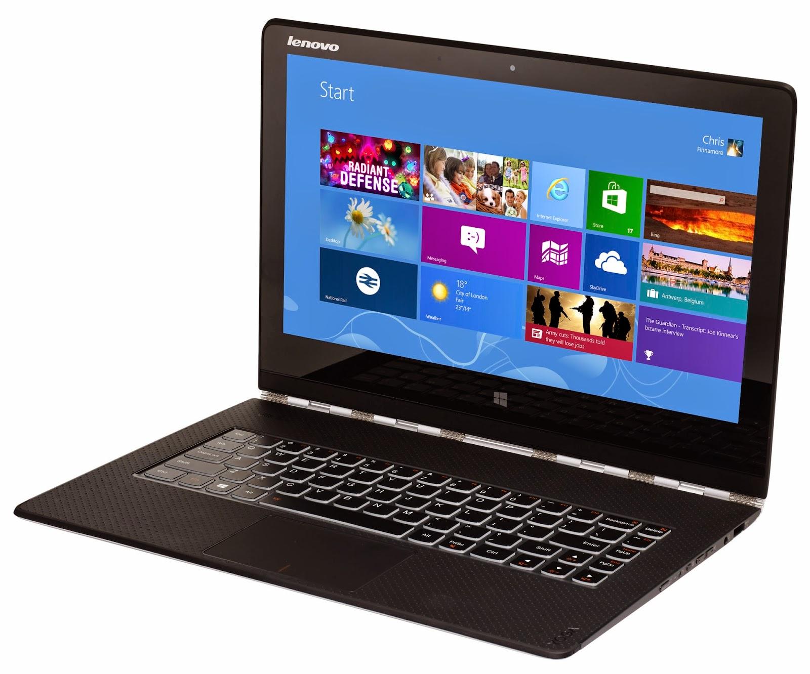 Laptop Paling Ringan di Dunia, Lenovo Yoga 3 Pro