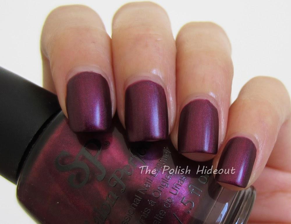 The Polish Hideout Salon Perfect Playful Plum