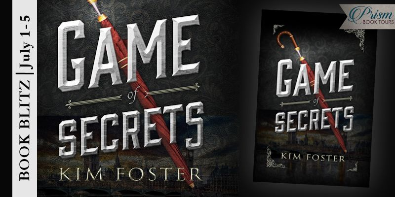 We're celebrating the release of GAME OF SECRETS by KIM FOSTER!