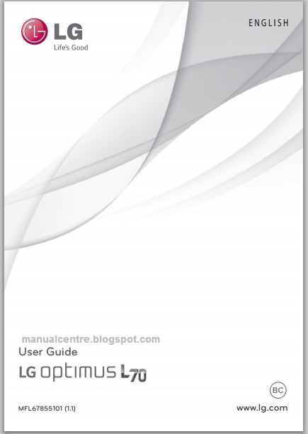 LG Optimus L70 Manual