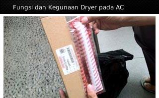 fungsi kegunaan ac filter dryer mobil