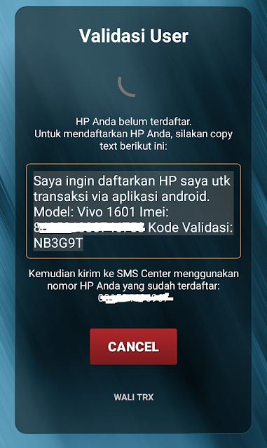 Cara Login Aplikasi Android Wali Trx Pulsa