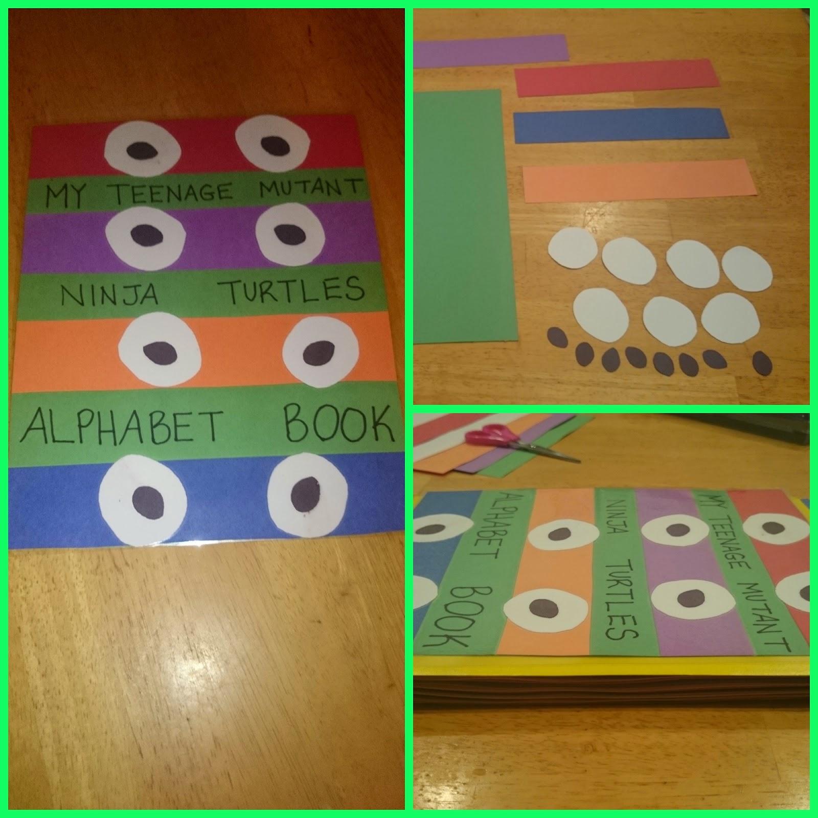 Raising Samuels Life Teenage Mutant Ninja Turtles Inspired Alphabet Book