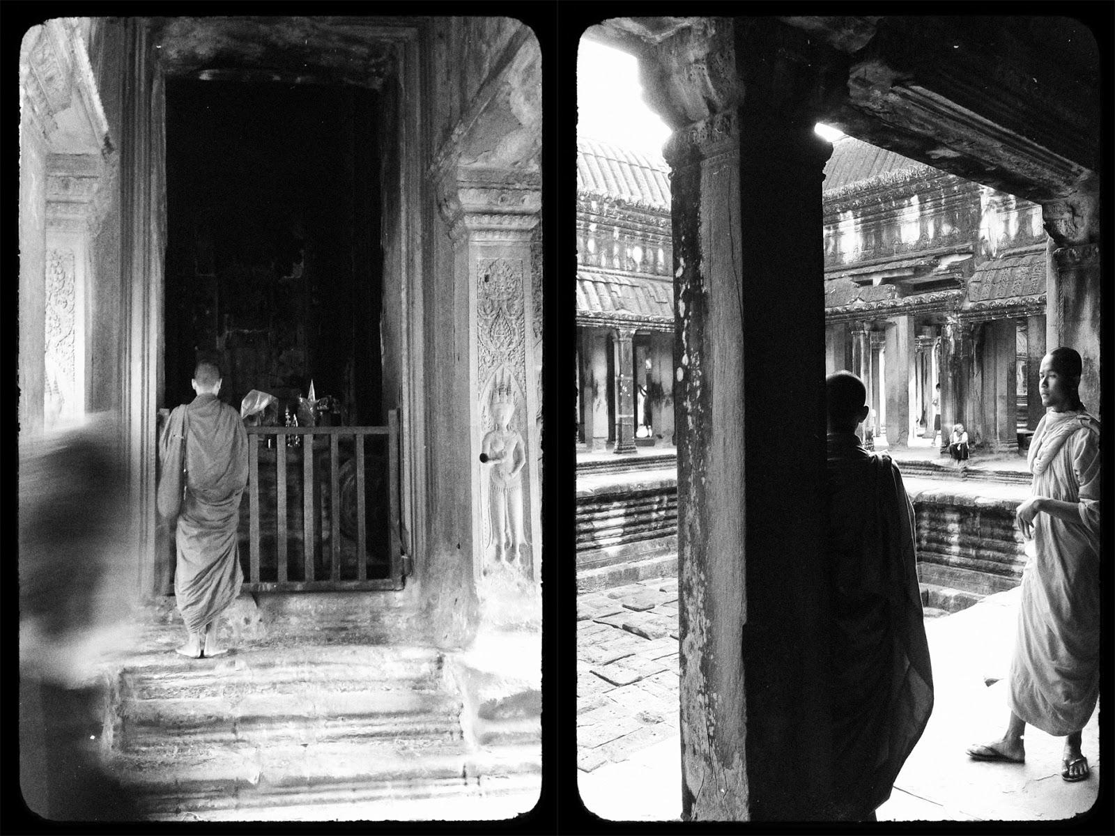 Moines, Angkor Wat