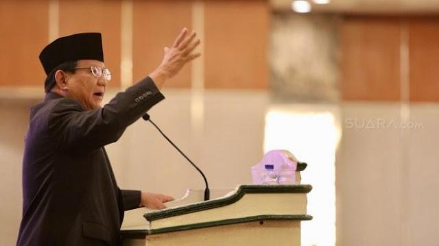 Prabowo Bandingkan Pemerintahan Jokowi dengan China dan Jepang soal Kerja