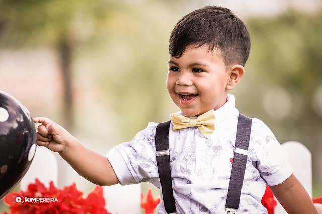 Ensaio | Luiz Miguel, 2 Anos