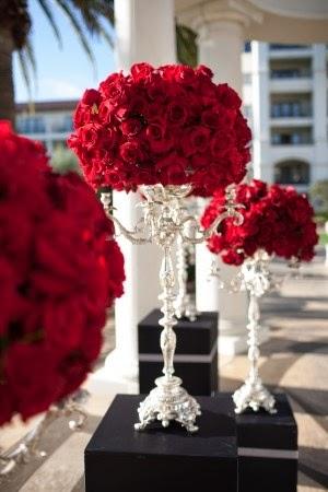 Raucous, Rowdy Red Weddings