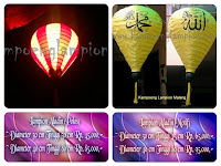 Lampion Balon Udara (Aladin)