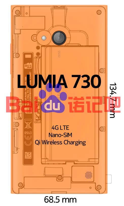 Spesifikasi Nokia Lumia 730 (Superman) Muncul Lagi