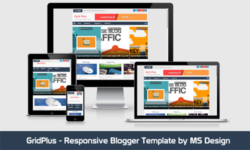 Best Grid Blogger Templates