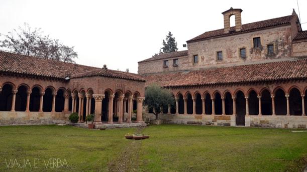 Claustro de San Zeno. Verona,Italia. Viaja et verba