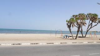 On the east coast of Djibouti City
