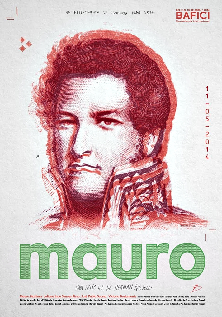 Póster: Mauro (Hernán Rosselli, Argentina, 2015).