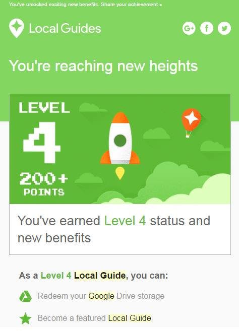 Google Local Guides Level 4