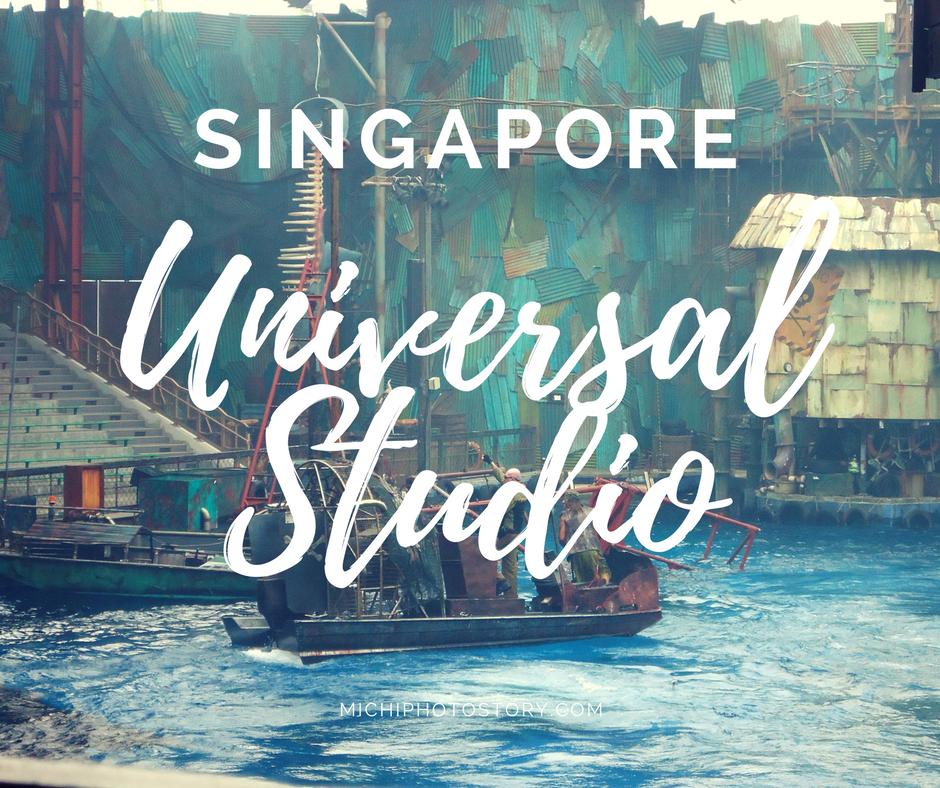 Michi Photostory Day 4 Universal Studio Singapore