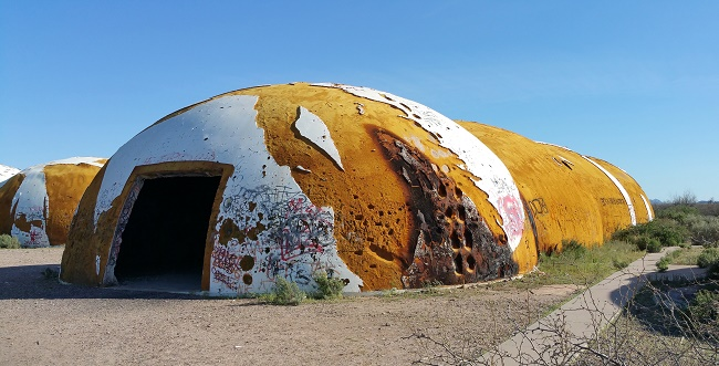 Abandoned domes in Casa Grande AZ