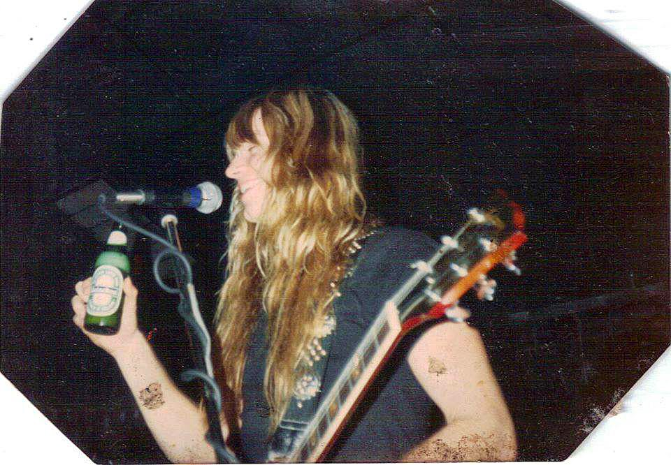 A young Zakk Wylde pre Black Label Society & Ozzy at Birch Hill