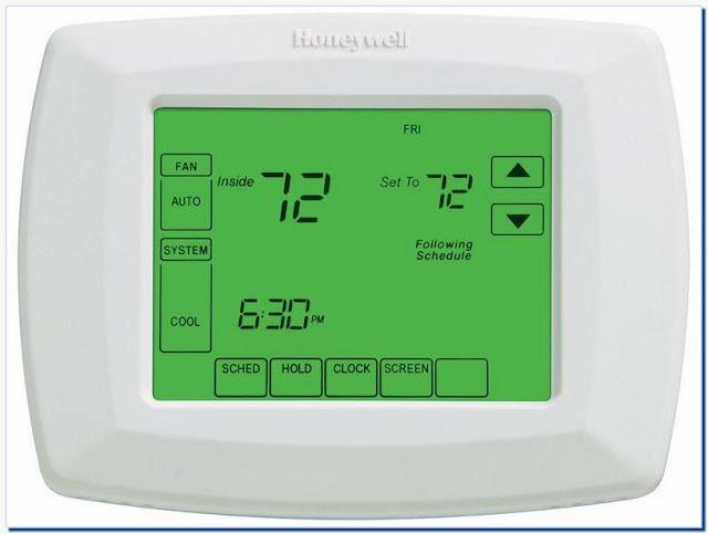 Honeywell ac thermostat user manual