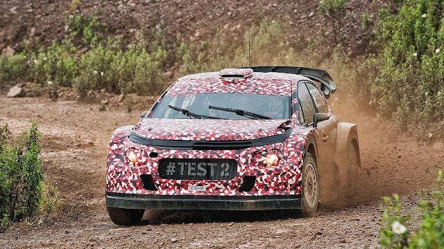 Citroën Racing continues development of its 2017 World Rally Car