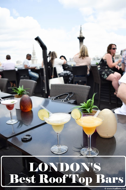 Vista Bar On Trafalgar Square Plus London's Best Roof Top Bars