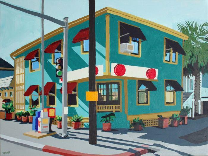 Городские пейзажи или простые люди. Melinda Patrick