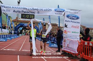 Homenaje Corredores Media Maraton Leon