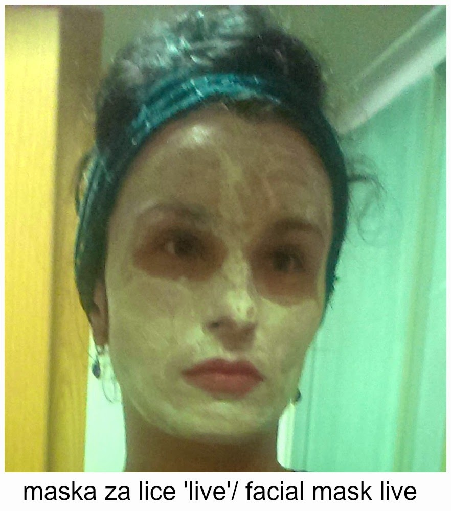facial kaolin mask