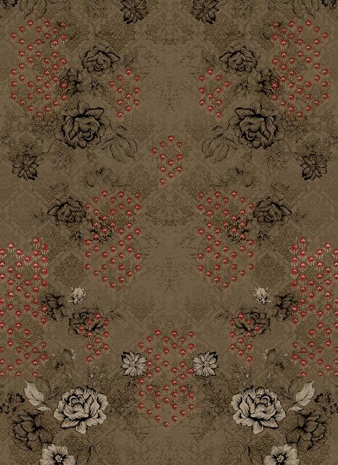 Textile Digital Print Background 2305
