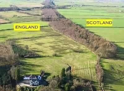 England-Scotland-Border