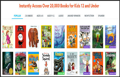 5 Great Ebook Libraries For Kids Educational Technology And Mobile